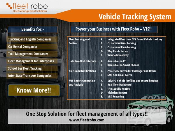 Gps Vehicle Tracking System In India Fleet Robo